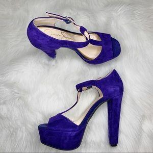 Jessica Simpson Suede High Heels Size 6